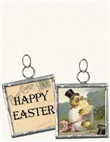 HAPPY EASTER PENDANT