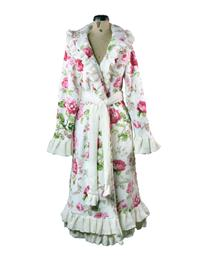 Pampered Princess Ruffled Rose Robe
