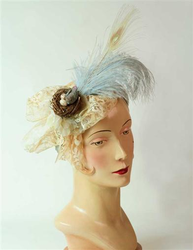 BIRD'S NEST FASCINATOR