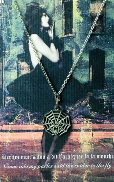 INTO MY PARLOUR SENTIMENT NECKLACE