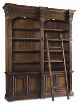 BOOKSELLER SHELVES WITH LADDER
