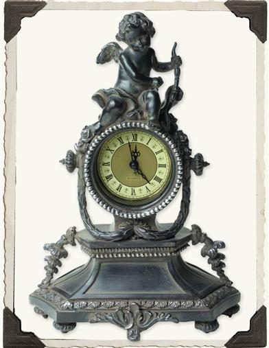 SOMEWHERE IN TIME MANTEL CLOCK
