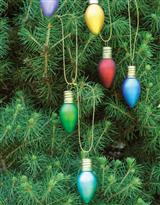 RETRO BULB ORNAMENTS (SET OF 6)