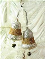 SILVER BELLS ORNAMENT