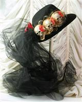 SHRUNKEN HEADS RIDING HAT