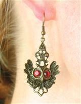 GUINEVERE'S OWL EARRINGS