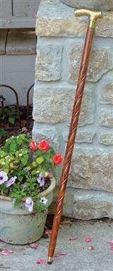 BARLEY TWIST WALKING STICK