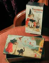 NESTED WITCH TINS (PAIR)