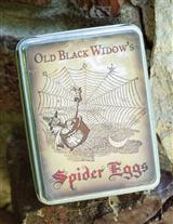 OLD BLACK WIDOW'S TIN