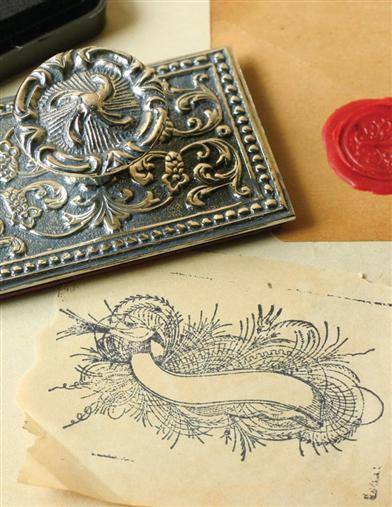 STATELY SPENCERIAN STAMP
