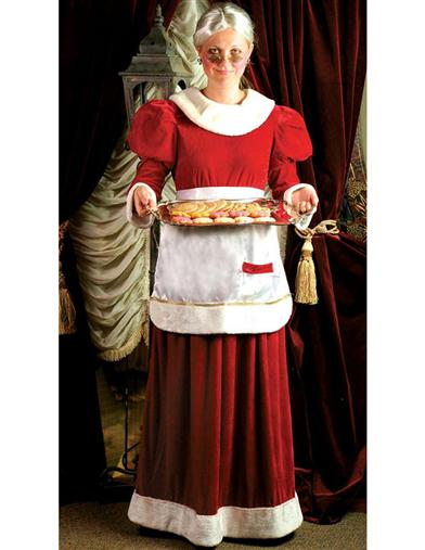 Mrs. Claus Attire