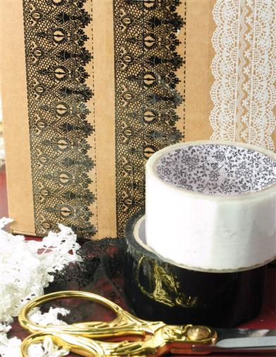 CHANTILLY LACE TAPE (PAIR)