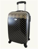 TEA LACE ROMANTIC ROLLING CARRY-ON