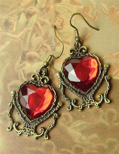 TWIN HEARTS EARRINGS