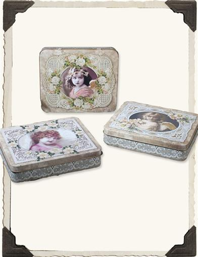 PRECIOUS TINTYPE TINS (SET OF 3)