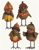 Nutheads (Set Of 4)