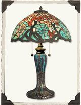 Louis Comfort Tiffany Cobweb Lamp