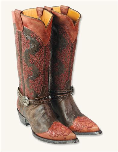 ANKLE BRACELET COWGIRL BOOTS