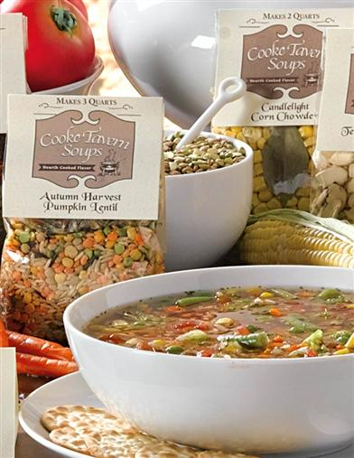 Hearty & Natural Soup (Set Of 3)