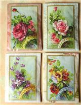 FRAGRANT BOUQUET ENVELOPE SACHETS (SET OF 4)