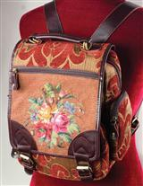 PETIT POINT BACKPACK
