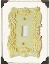 Buttercream Single Switchplate