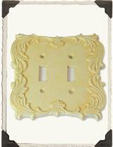 BUTTERCREAM DOUBLE SWITCHPLATE