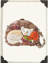 MARY FRANCES CAT NAP BAG
