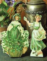 IRISH LASSIES DUMMY BOARDS (PAIR)