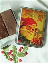 LAURA LITTLES CHOCOLATE FUDGE IN TIN