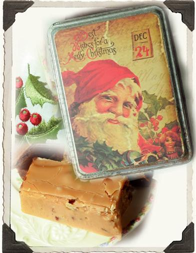 LAURA LITTLES MAPLE FUDGE IN TIN