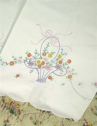 GRANDMOTHER'S PILLOWCASES (PAIR)