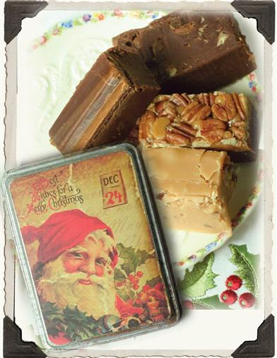 LAURA LITTLES FUDGE IN TIN (SET OF 4)