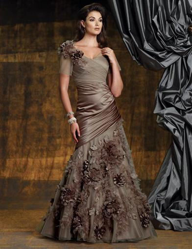 TRUFFLE GOWN