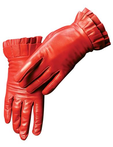 Vintage Style Gloves- Long, Wrist, Evening, Day, Leather, Lace Red Leather Gloves Small $29.95 AT vintagedancer.com