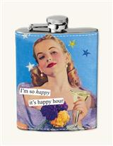 ANNE TAINTOR LADYLIKE SNORT FLASK (HAPPY HOUR)