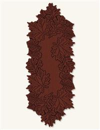 Autumn Lace Tablerunner Paprika 14 X 68 In.