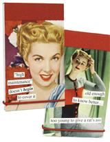 ANNE TAINTOR MINI NOTEPADS (PAIR)