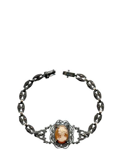 Victorian Costume Jewelry to Wear with Your Dress Authentic Italian Cameo Aphrodite Bracelet $149.95 AT vintagedancer.com
