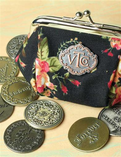 POCKET SENTIMENTS IN OUR SIGNATURE COIN PURSE