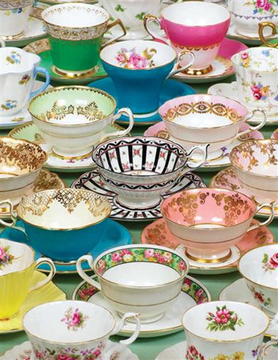 From Havilland To Limoges Teacups Puzzle