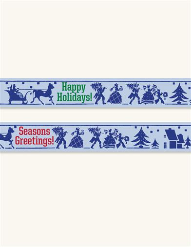 VICTORIAN HOLIDAY TAPE (PAIR)