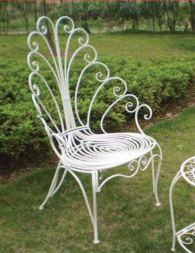 PEACOCK GARDEN CHAIR