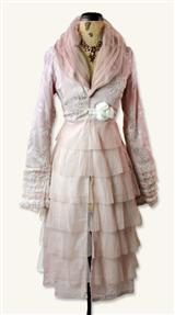DUSTY MAUVE TEA JACKET