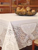 CANTERBURY LACE TABLECLOTH