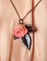 GENUINE ROSEBUD NECKLACE