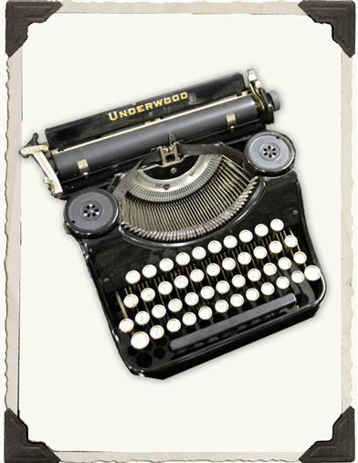 UNDERWOOD CLASSIC 4-BANK TYPEWRITER