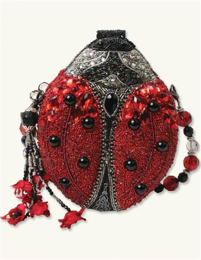 Mary Frances Ladybug Purse