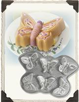 PLATINUM BUTTERFLY CAKELET PAN