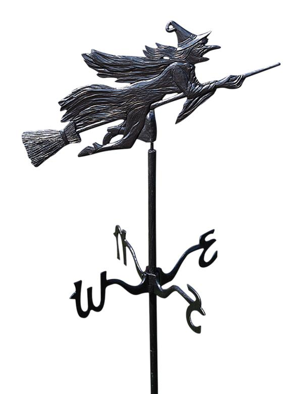 Cottage Witch Weathervane by Good Directions